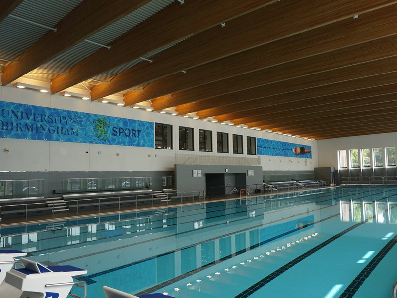 Birmingham 39 s only 50m pool - University of birmingham swimming pool ...